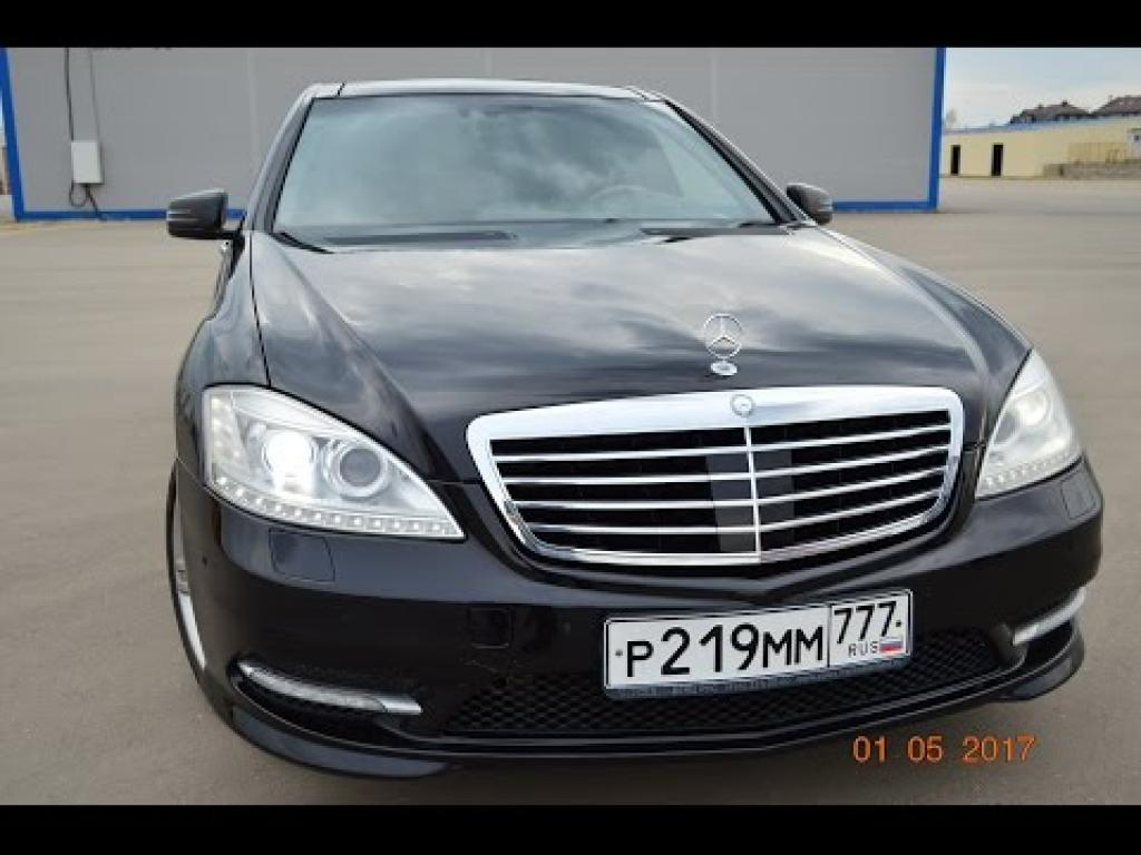 Embedded thumbnail for Mercedes Benz S500 221 2008г.
